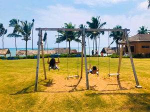 Relaxing at Sankofa Beach House