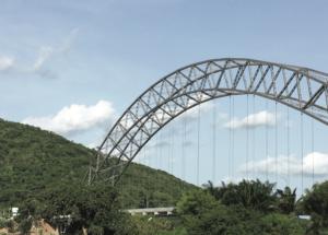 Adomi Bridge in Akosombo